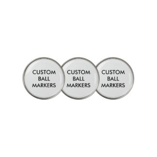 Custom Personalized Golf Ball Markers Blank