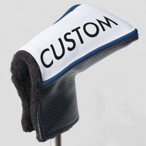 Custom Personalized Golf Club Cover Blank Template