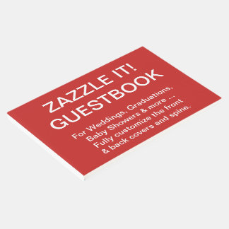 Custom Personalized Guestbook Blank Template