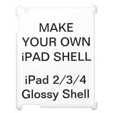 Custom Personalized iPad 2/3/4 Hard Shell Case Case For The iPad