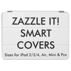 Custom Personalized Ipad Air & Air 2 Smart Cover at Zazzle