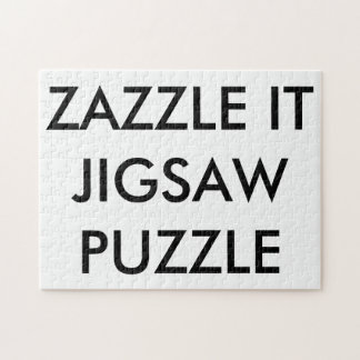 Custom Personalized Jigsaw Puzzle Blank Template