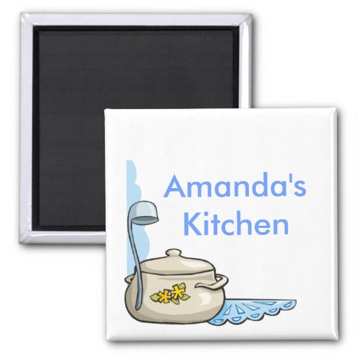 Custom Personalized Kitchen Magnets