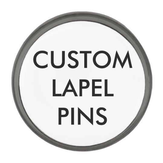 Custom Personalized Lapel Pin Blank Template