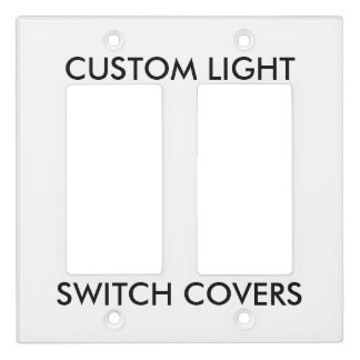 Custom Personalized Light Switch Cover Blank