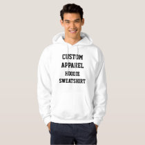 Custom Personalized Men's HOODIE SWEATSHIRT