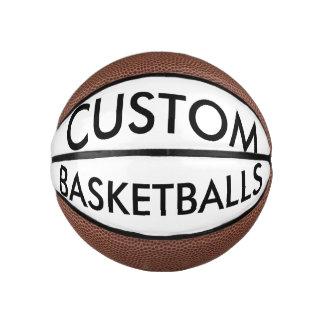 Custom Personalized Mini Basketball Blank Template