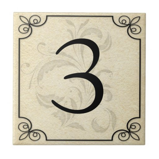Custom personalized number letter ceramic ceramic tile for Ceramic tile numbers and letters