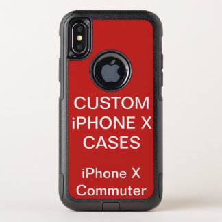 Custom Personalized Otterbox iPhone X Commute Case