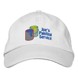 Custom Personalized Painter Hats - Add Text