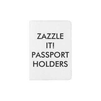 Custom Personalized Passport Holder Blank Template