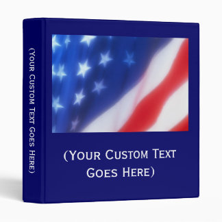Custom Personalized Patriotic Photo Album or Binde Binder