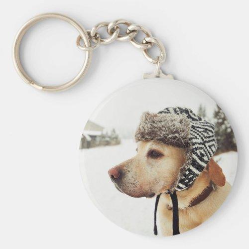 Custom Personalized Pet Photo Keychain