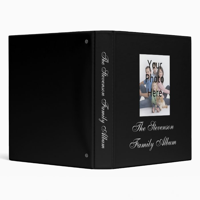 Custom personalized photo album binder zazzle - Customiser album photo ...