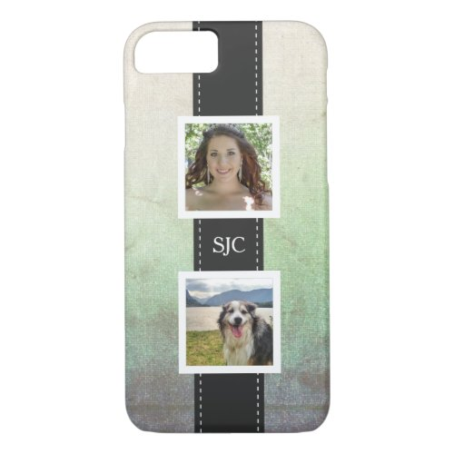 Custom Personalized Photo and Initials Phone Case