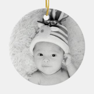 Custom Personalized Photo Christmas Ornament