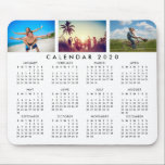 "Custom Personalized Photo Collage 2020 Calendar Mouse Pad<br><div class=""desc"">Create your own personalized 2020 calendar mouse pad with your custom images. Add your favorite photos, designs or artworks to create something really unique. To edit this design template, simply upload your own images as shown above. You can even add text, customize fonts and colors. Treat yourself or make the...</div>"