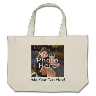 Custom Personalized Photo CTC Life Tote Bag