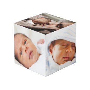 Custom Personalized Photo Cube