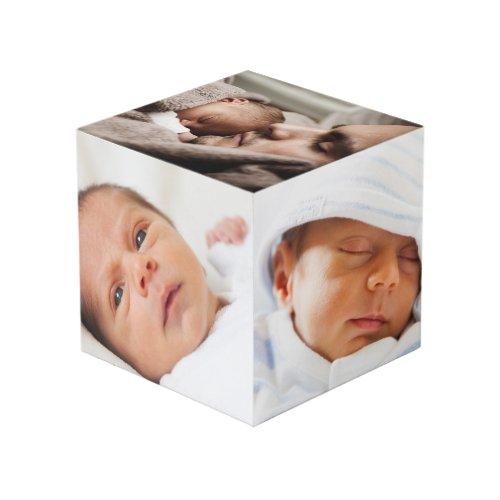 Custom Personalized Photo Cube