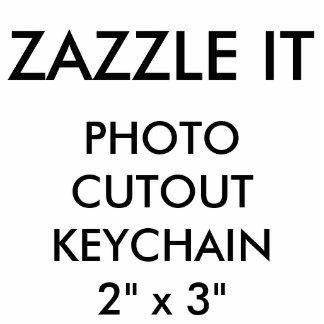 Custom Personalized Photo Cutout Keychain Blank