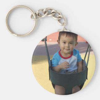 Custom Personalized Photo Keychain