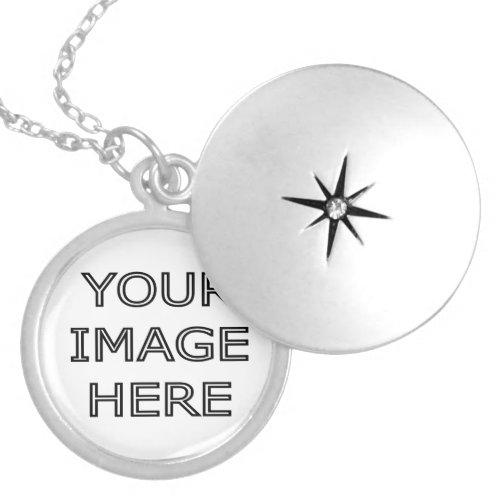 Custom Personalized Photo Locket Necklace