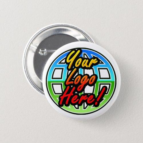 Custom Personalized Photo Logo Promotional Button