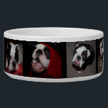 "Custom Personalized Photo Pet Dog Bowl<br><div class=""desc"">This is an awesome custom gift! Use your pet&#39;s photo and name to personalize this food bowl.</div>"
