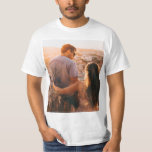 "Custom personalized photo print T-Shirt<br><div class=""desc"">Be unique and creative by printing your own photo T-shirt</div>"