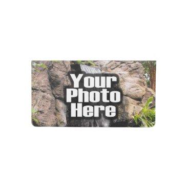 Custom Personalized Photo Printed Checkbook Cover
