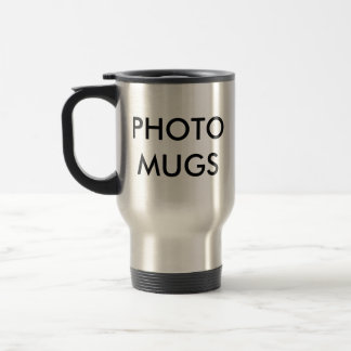 Custom Personalized Photo Travel Mug Blank