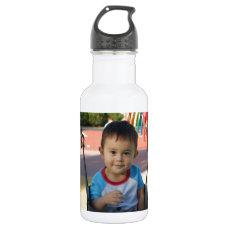Custom Personalized Photo Water Bottle