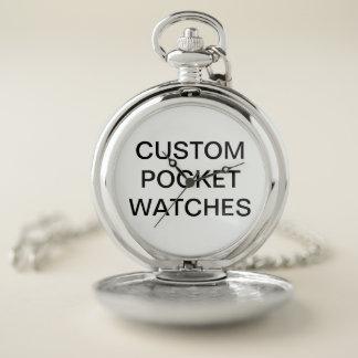 Custom Personalized Pocket Watch Blank Template