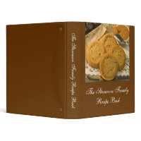 Custom Personalized Recipe Book binder