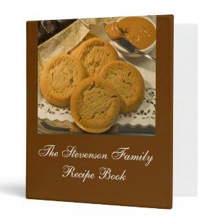 Custom Personalized Recipe Book Binders