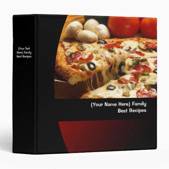 Custom Personalized Recipe/Menu Food Binder