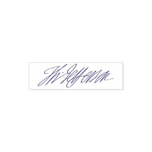 Custom Personalized Self Inking Signature Stamp