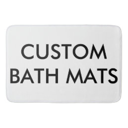 Custom Personalized Shower Bath Mat Blank Template
