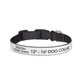 "Custom Personalized Small 12"" - 16"" Dog Collar"