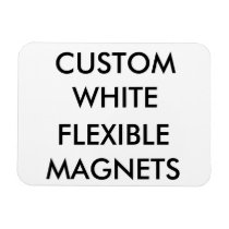 Custom Personalized Small Flexible Fridge Magnet