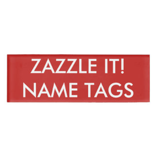 Design Template Name Tags Badges Zazzle - Small name tag template