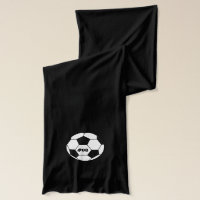 Custom Personalized Soccer Scarf