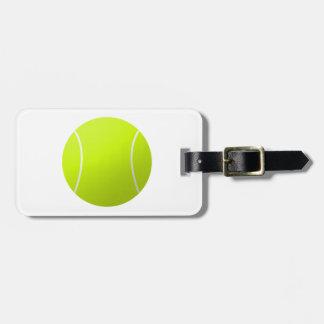 Custom Personalized Tennis Ball Gift Bag Tag