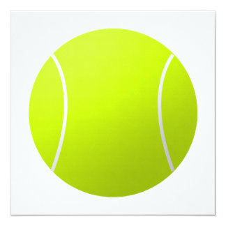 Custom Personalized Tennis Ball Gift Card