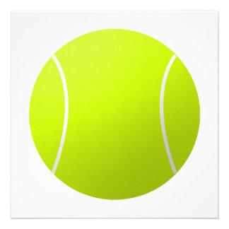 Custom Personalized Tennis Ball Gift Invitations