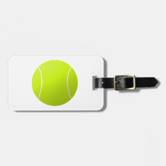 Custom Personalized Tennis Ball Gift Travel Bag Tags