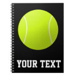 Custom Personalized Tennis Ball Gift Notebook