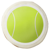 Custom Personalized Tennis Ball Gift Sugar Cookie