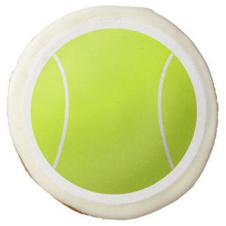 Custom Personalized Tennis Ball Gift Sugar Cookie